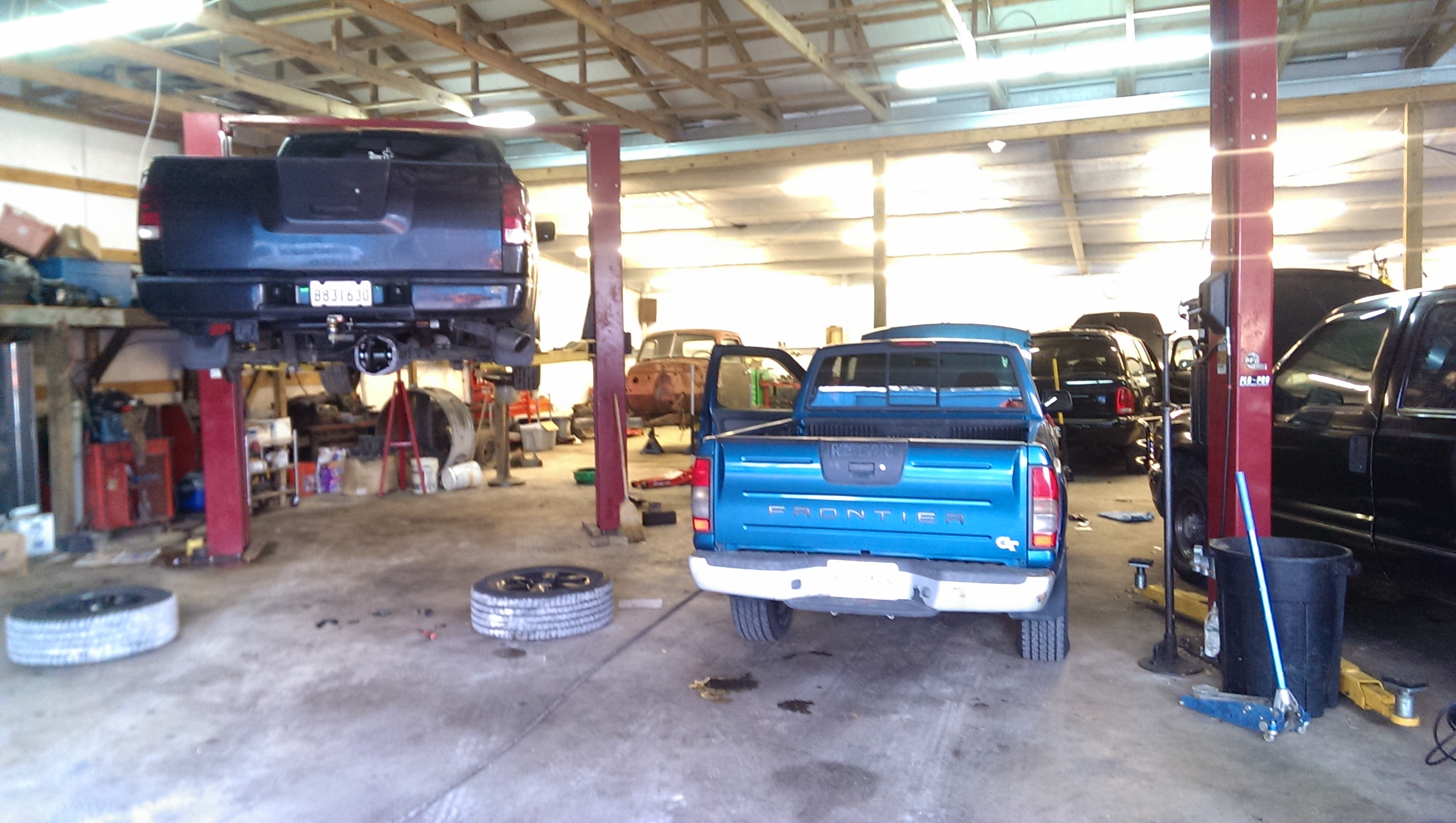 Mid City Auto Service Ford Specializing In Drivability And Electrical Ac Certs Power Steering Fix On A Nissan Pickup Rear Differential Repair Couple Of Diesel Engine Repairs Check Light Diagnosis